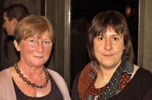 An Zwaenepoel en Iris Verbeke